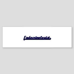 Endocrinologist Classic Job Design Bumper Sticker
